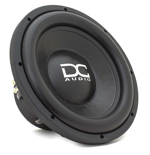 """DC Audio DC-M3 LV2 12"""" 1200 Watt Dual 2 Ohm Voice Coil Subwoofer  With more power handling than before, Level 2 is back and better than ever! This sub has everything you need in a daily driver except the cost. This is one of our greatest accomplishments. It starts out with a double-stacked FEA optimized motor. A chrome top plate and T yoke to keep it looking good. It has 22 mm of X-Max, progressive spider, 2.5"""" voice coil, cast basket, and push terminals. This sub works great in sealed or ported enclosures.  This listing includes: (1) Subwoofer  Features: - Extremely rigid non-pressed paper cone assembly - Multilayered polymer wide roll foam surround - Polypropylene dust cover with DC logo - Dual 8"""" OD flat linear roll spiders - Heavy-duty interweaved tinsel lead wire sewn to the spider - Cast aluminum black frame - FEA analyzed and optimized motor assembly - Fully CNC machined - Rubber mounting gasket - Chrome spring loaded push terminals - 2.5"""" Hi-temp copper voice coil wound on black anodized voice coil former - Rubber magnet cover  Specifications: RMS Watts: 600 Watts MAX Watts: 1200 Watts Voice Coil: Dual 2 Magnet Material: Ferrite Impedance (Ohm): D2 Ref SPL @ 1 watt: 84.2 Suggested Sealed: .75³ ft Suggested Ported: 1.25³ ft  Dimension: VC Diameter 2.5"""" Mounting Depth 6.0"""" Mounting Hole Diameter 11.0"""" Outside Driver Diameter 12.5"""""""