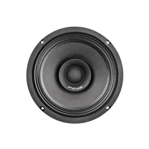 """PRV Audio 8FR250 8"""" Full-Range Speaker (Sold Individually)  The PRV Audio FR Series sets a new standard of value in high-performance Full Range drivers. The 8FR250 full-range driver is an excellent choice when space is at an absolute minimum, eliminating the need for a tweeter.  This loudspeaker has a dual cone design, the primary cone handles low to midrange frequencies while the smaller secondary cone increases high-frequency response from 50 Hz to 18,000 Hz. The combination of a low-distortion motor system with a copper ring and a unique woven-cloth dust cap provides exceptional clarity, detail, and dynamics at an impressive 93.5 dB of sensitivity."""