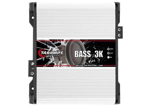Taramps BASS3K 1 Channel 3000W 1 Ohm Amplifier Class D Car Audio