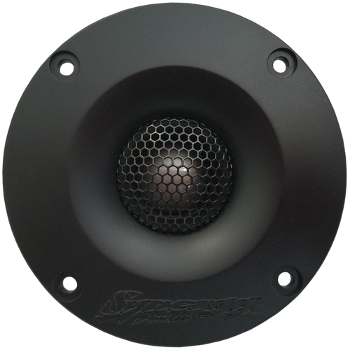 Synergy Audio WFO HDT-25 High Definition Titanium Dome Tweeters (pair)   The WFO HDT-25″ – 50w RMS Titanium Tweeter is the answer to the perfect tweeter. The HDT-25 can be used in multiples in a Pro Audio door setup for those who love to do distance tests or Actively crossed over and be used as an SQ tweeter in a high sound quality setup.     Over 2 years in research, design and prototyping to come up with what we think is a well rounded high frequency solution. If you're looking for a lightweight, efficient, tonal accurate tweeter then you've found it here.