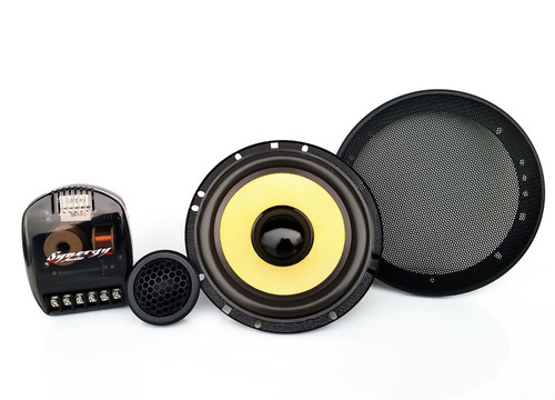 """Synergy Audio WFO FCD 6.5"""" Component Set  The WFO FCS 6.5″ – 75W RMS Component Set is world class component speaker system featuring high end design, engineering and manufacturing, utilizing the best quality components to insure the best possible performance at a price that cannot be beat."""