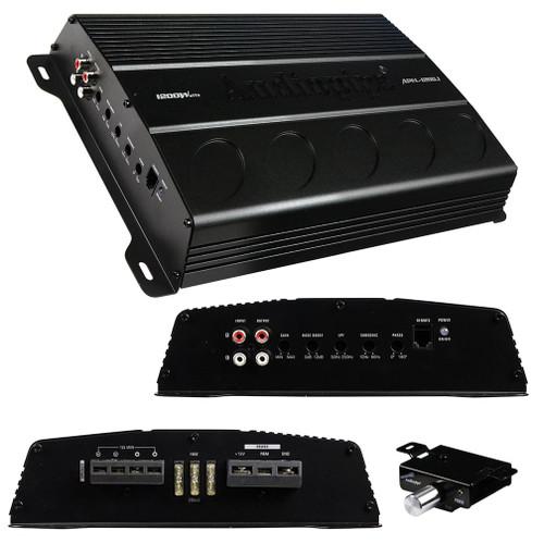 Audiopipe Mono Block Amplifier 1200 Watts - APEL-1200.1