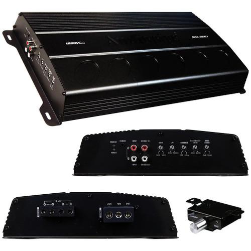 Audiopipe Mono Block Amplifier 1800 Watts - APEL-1800.1 | 12 Volt & Beyond Car Audio and Marine Audio Electronics