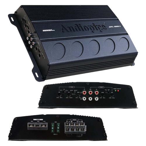 Audiopipe 4 Channel Amplifier 2200 Watts - APEL-2200.4 | 12 Volt & Beyond Car Audio
