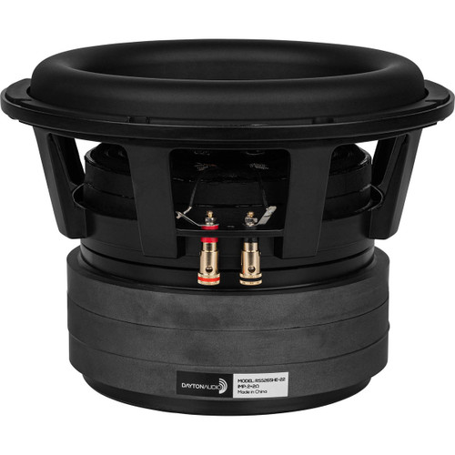 """Dayton Audio RSS265HE-22 10"""" Reference Series High Excursion Subwoofer 2+2 ohm"""