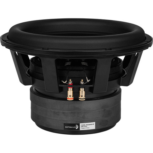 """Dayton Audio RSS315HE-22 12"""" Reference Series High Excursion Subwoofer 2+2 ohm"""