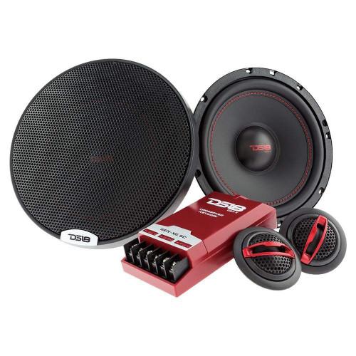 "DS18 GEN-X6.5C 6-1/2"" 2-Way Component Speaker System Pair 4 Ohm"