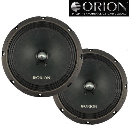 "Orion CT-M8 8"" High Efficiency Midrange Speakers 900 Watts Max 4 Ohm Cobalt Series"