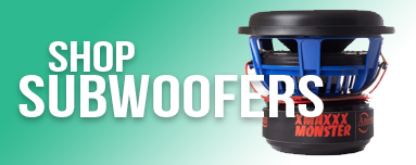 Shop All Car Audio Subwoofers at 12 Volt and Beyond