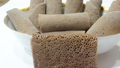 Brown Teff  Injera bread