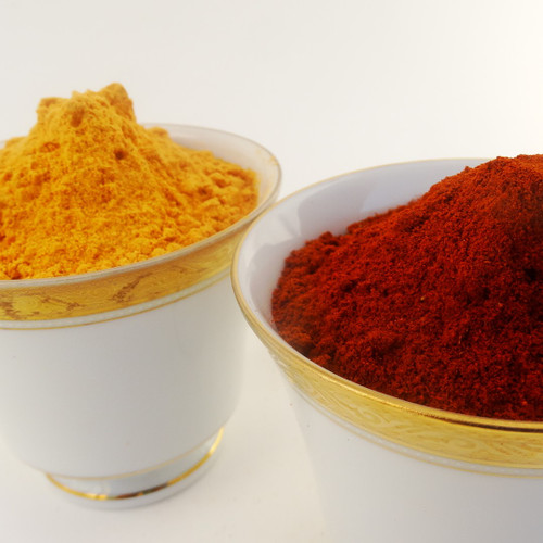 Berebere spice mix and shiro flour