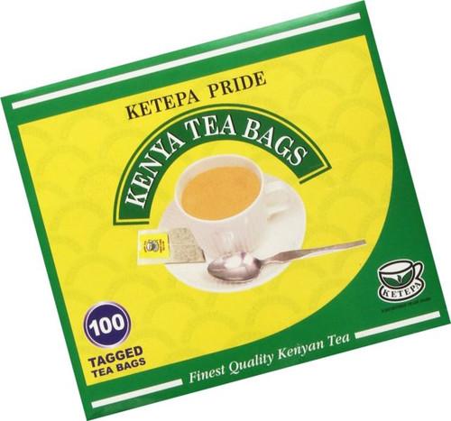 Ketepa Kenya Tea - Ketapa Pride Tea Bags - 100 tea bags