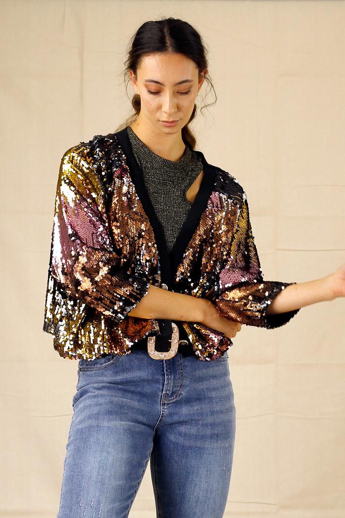 Sequin Dazzle Jacket