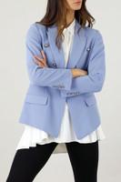 Blue Ultra Blazer