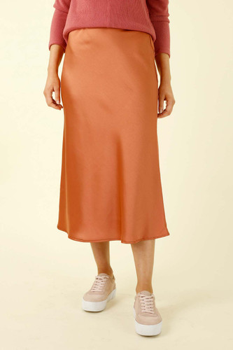 Copper Monte Carlo Bias Skirt - FINAL SALE