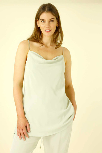 Mint Soft Touch Cowl Cami - SALE