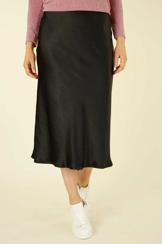 Black Monte Carlo Bias Skirt - SALE