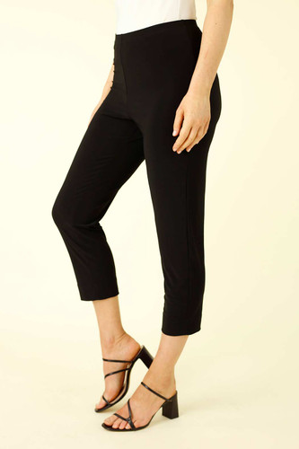 Black Jersey Easy Fit Pant