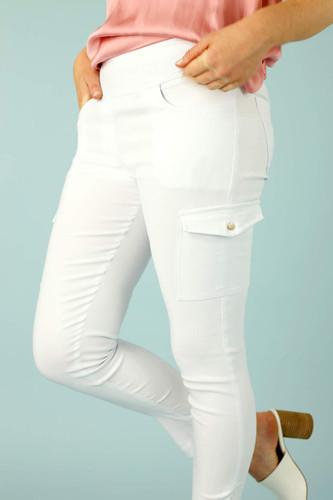 White Casablanca Cargo Pant - FINAL SALE