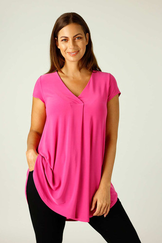 Pink Jersey Coolli Cap Sleeve