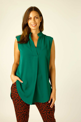 Green Soft Touch Blogger Cami