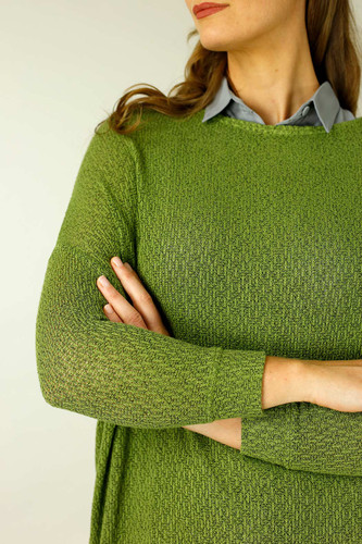 Olive Liberty Knit Overtop