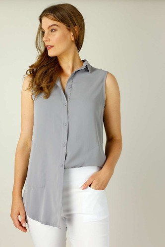 Grey Nano Pocket Cami