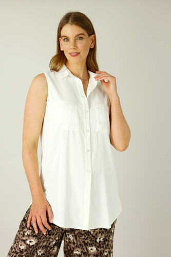 White Soft Touch Patch Cami