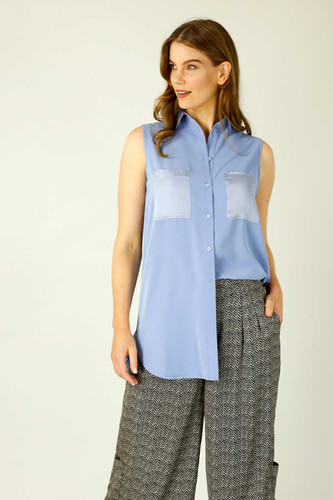Sky Soft Touch Patch Cami