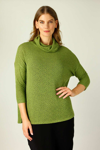 Olive Liberty Knit Turtle Neck - SALE