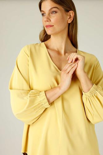 Mustard Soft Touch Audrey Blouse - SALE