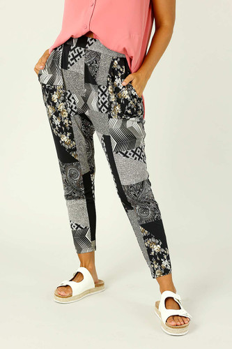Patchwork Jersey Lounge Pant