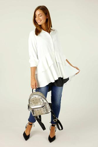 Ivory Soft Touch Paris Shirt