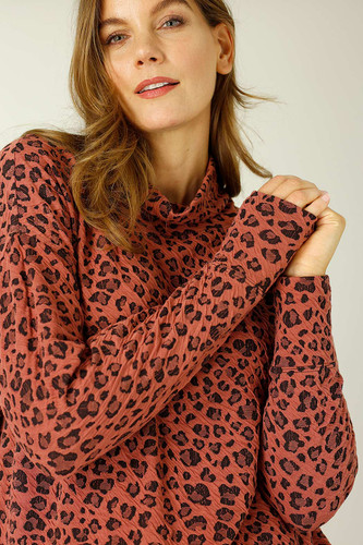 Sienna Animal Jacquard Jumper