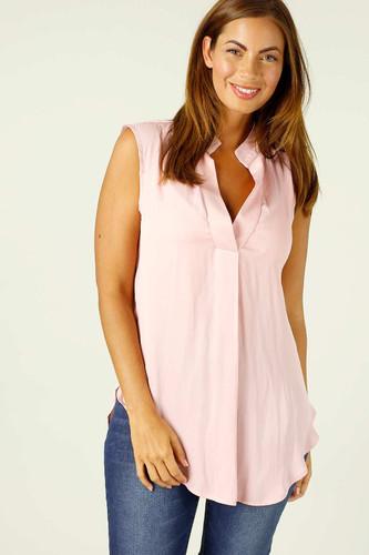 Soft Pink Seta Blogger Cami