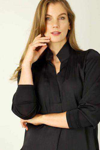 Black  Seta Chelsea Shirt
