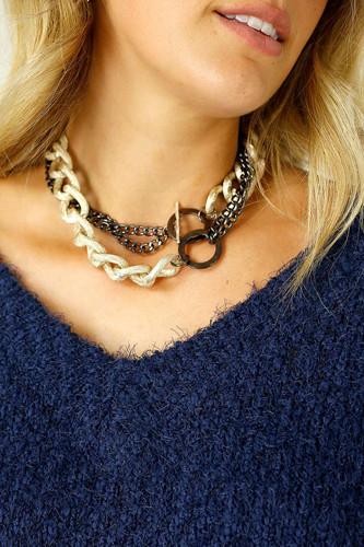 Gold Calli Necklace - FINAL SALE