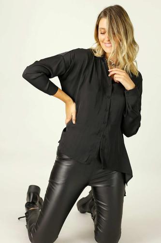 Black Seta Everyday Shirt - SALE
