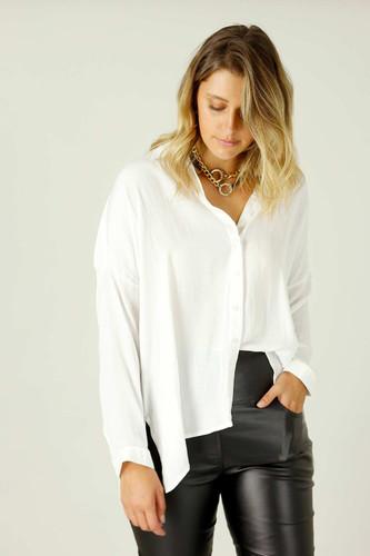 White Seta Everyday Shirt - SALE