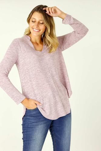 Pink Knit Romi Top