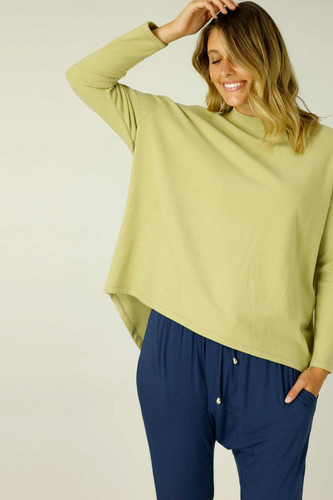 Chartreuse Audrey Jumper