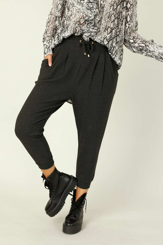 Charcoal Lounge Slouch Pant - SALE