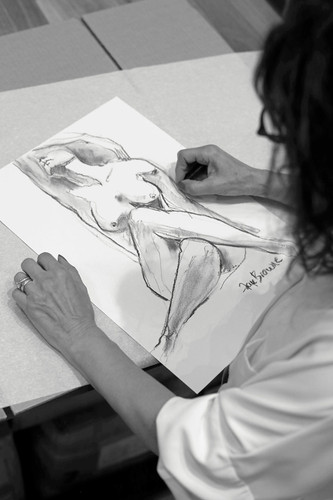 POWER Original Sketch by Faye Browne