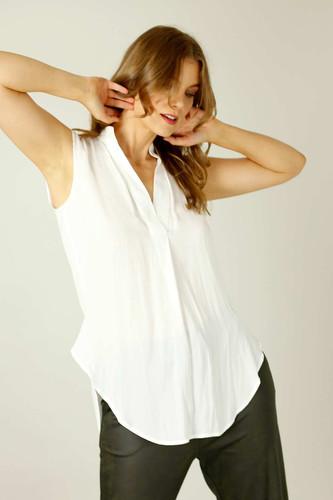 White Seta Blogger Cami - FINAL SALE