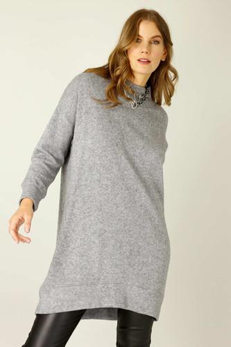Grey Lux Oversized Dress - SALE