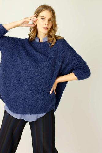 Blue Fluffy Overtop - SALE