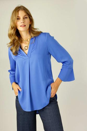 Marine Seta Blogger Shirt