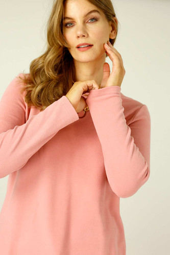 Pink Lounge Crew Neck Jumper