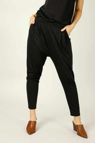 Black Woolly Lounge Pant
