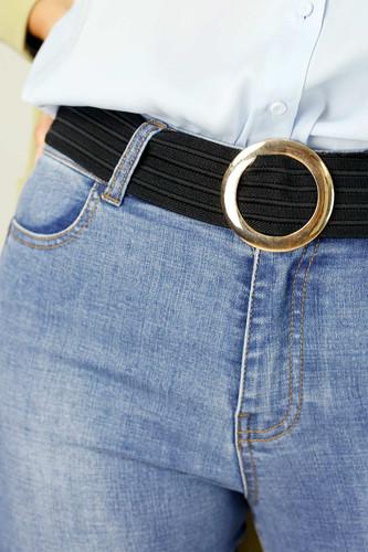 Gold Jean Belt Round - FINAL SALE